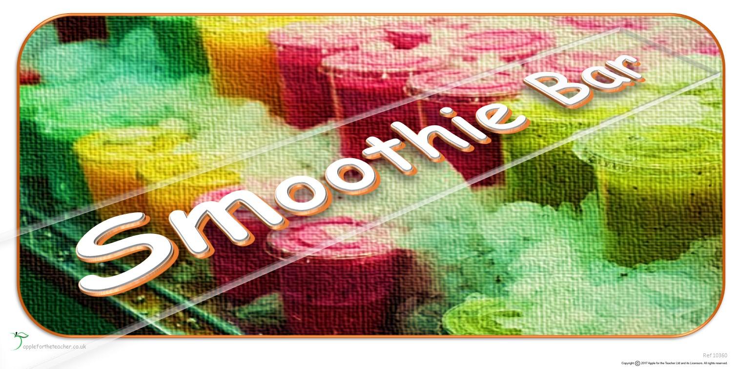 Smoothie Bar | EYFS