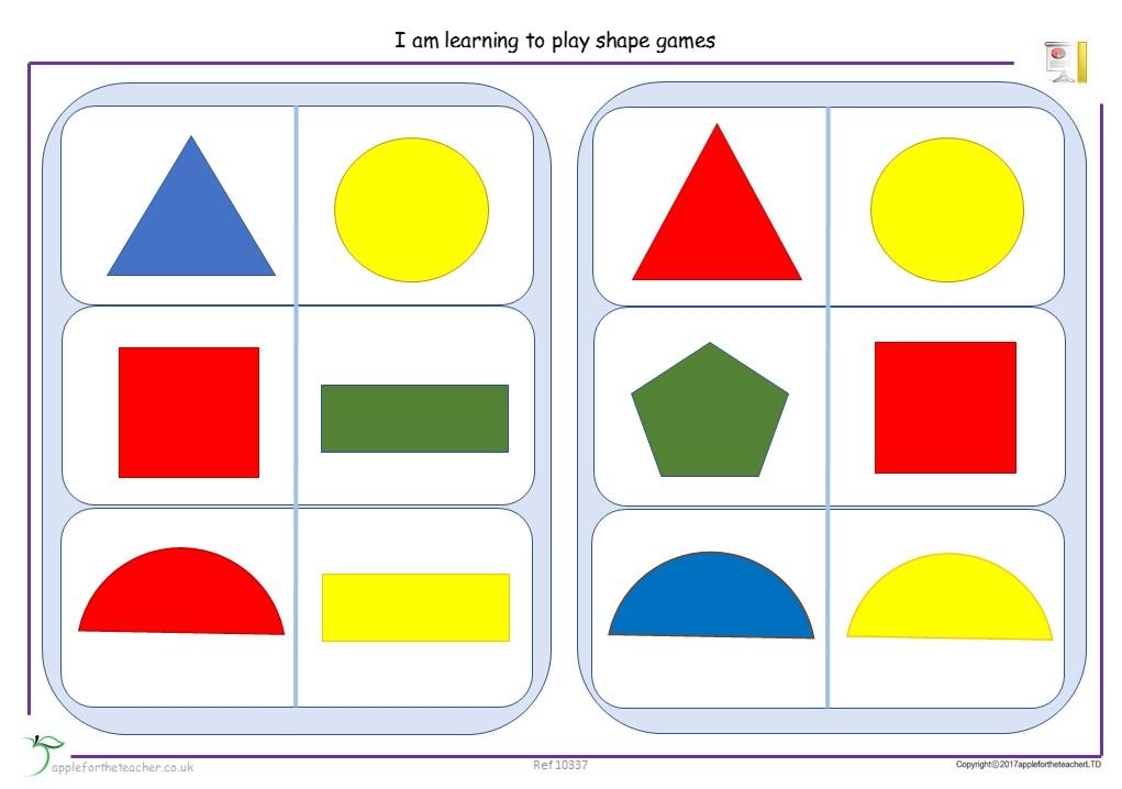 Shape Bingo | EYFS
