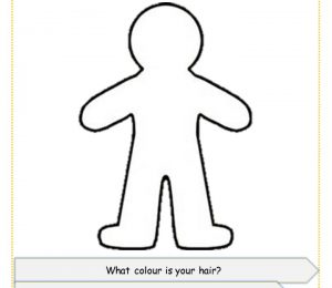 This Is Me Draw Yourself Full Body Template Educational Resources Uk