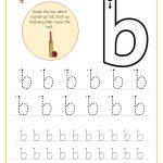 Letter Bb Handwriting Sheet