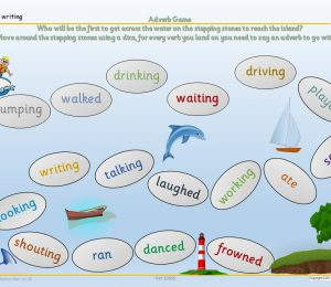 Adverb Game Writing Support | KS1