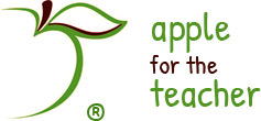 apple for the teacher logo