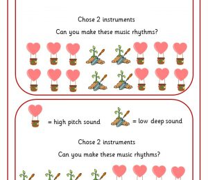 Music Challenge Cards | KS1