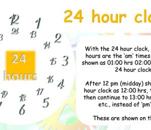 PPT - 12 And 24 Hour Clock Powerpoint Presentation