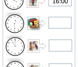 Analogue To Digital Clock Time Conversion