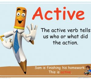 Active And Passive Verbs Powerpoint Presentation