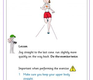 Running Exercises straight line