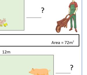 Area Find The Missing Measurement