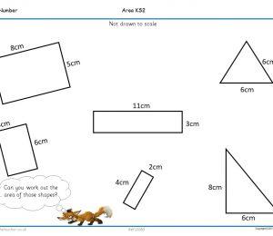 Area Measuring | Shape Space Measure