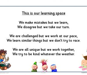 Learning Space Poster