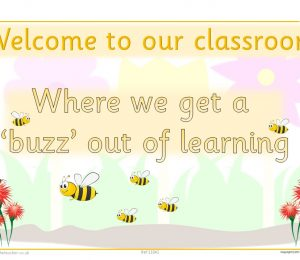Welcome To Our Classroom Minibeast Theme Poster