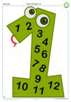 Funky Multiples Times Tables Numbers 1-9