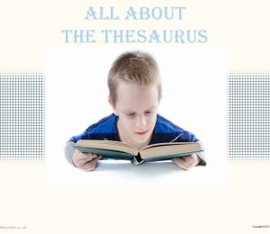 PPT - All About The Thesaurus Powerpoint Presentation