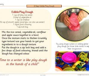 SEN Sensory Edible Play Dough