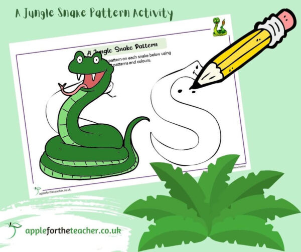 A Jungle Snake Pattern