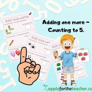 Add one more to 5 EYFS