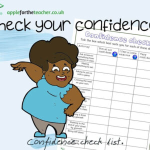 Anxiety Confidence check table