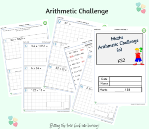 Arithmetic Challenge A Year 6