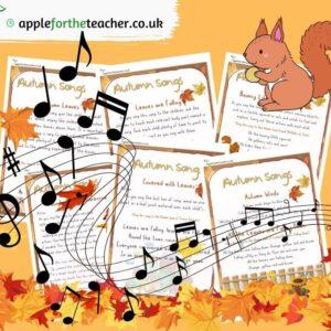 Autumn Songs EYFS