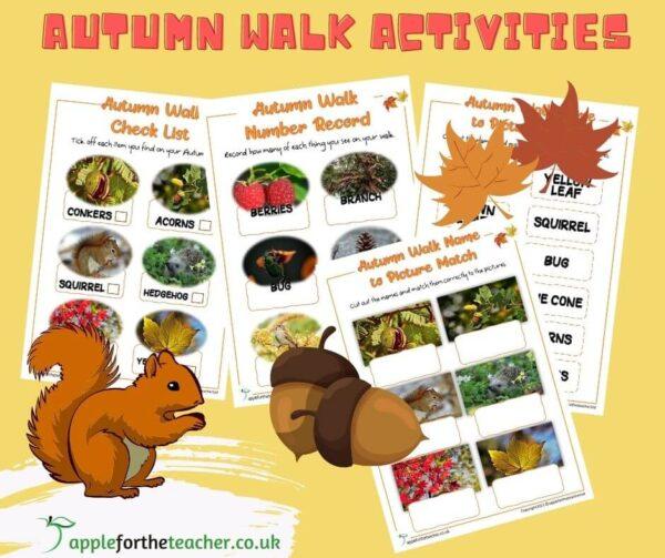 Autumn Walk Checklist