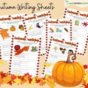 Autumn Writing Sheets