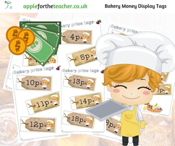 Bakery Price Tags Role Play