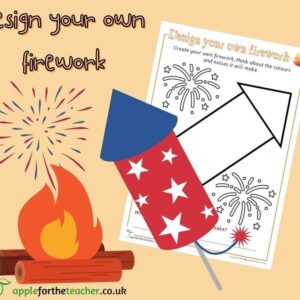Bonfire Night Design Your Own Firework