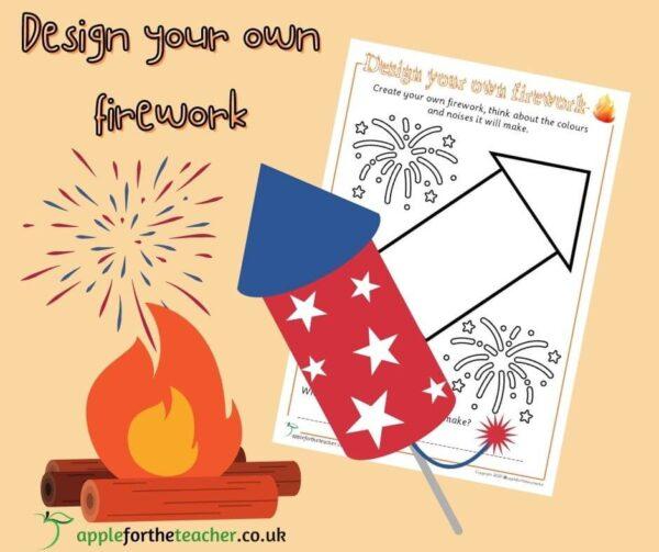 Bonfire Night Design Your Own Firework