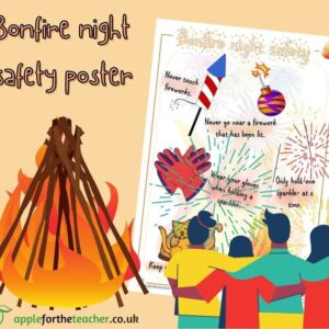 Bonfire Night Safety Poster