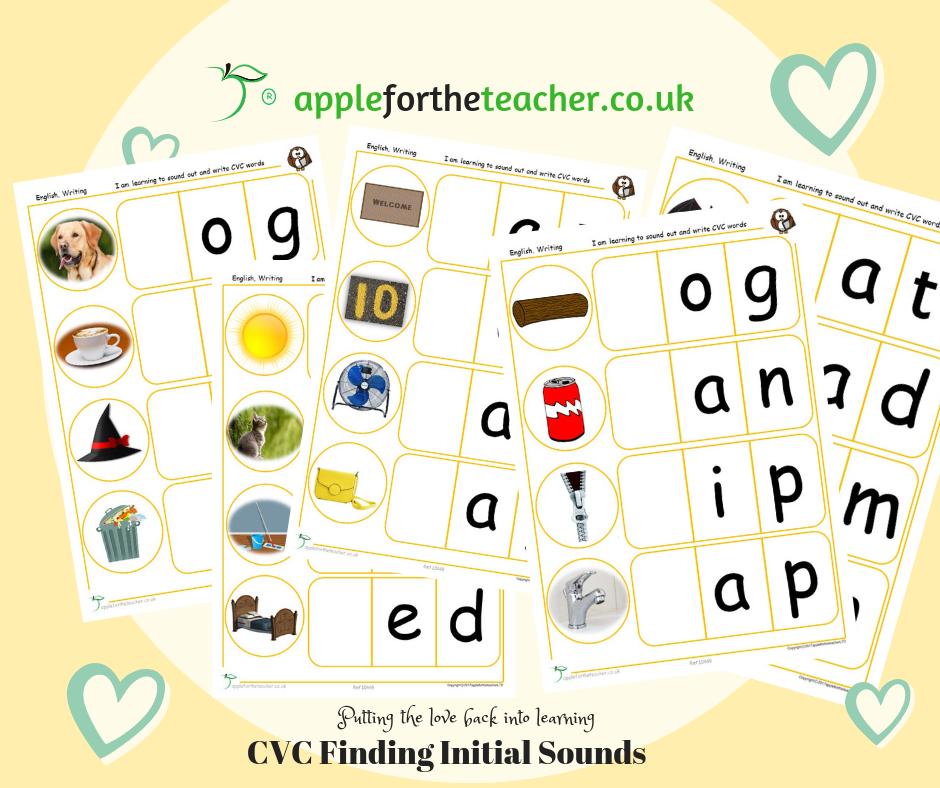 CVC Find Initial Sounds | SEN EYFS