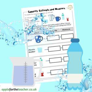 Capacity estimate and measure water KS1
