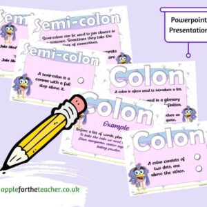 Colons and Semi-colons Powerpoint