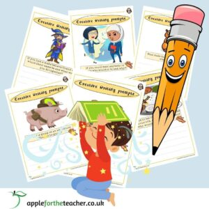 Creative Writing Prompt Cards KS1