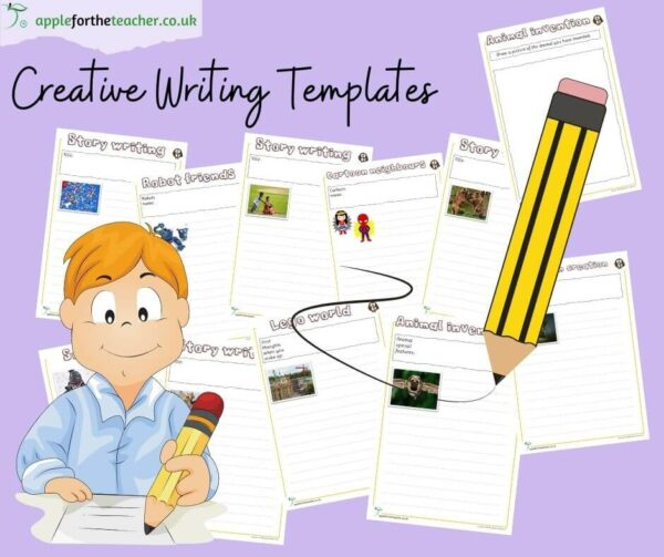 Creative Writing Tasks Activity Templates KS1