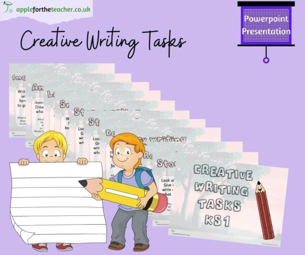Creative Writing Tasks Powerpoint KS1