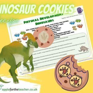 Dinosaur Cookies Recipe