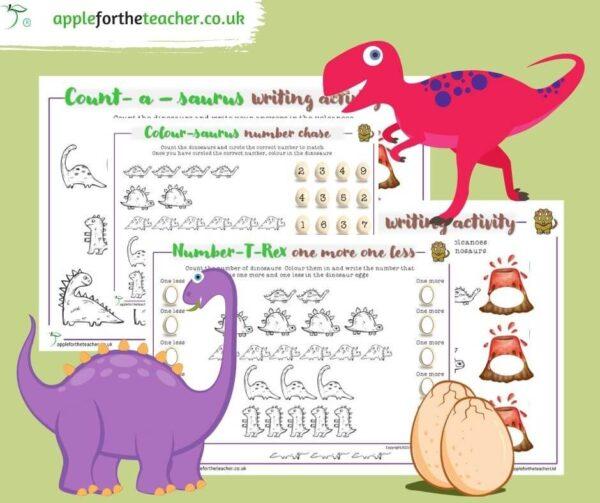 Dinosaur Maths Counting