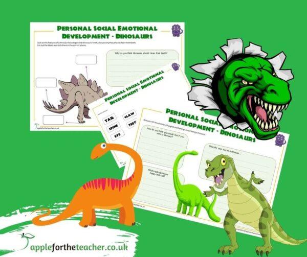 Dinosaur Social and Emotional Activity
