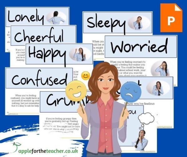 Feelings Powerpoint Presentation KS2