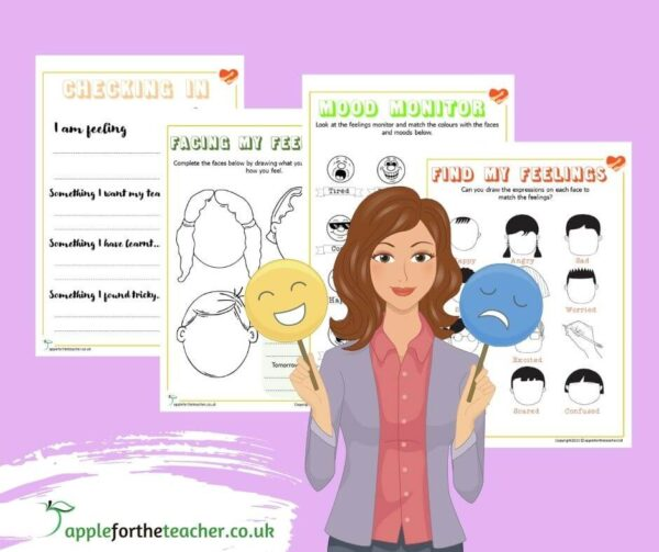 Feelings and Emotions activities
