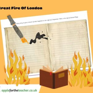 Fire of London Diary Entry
