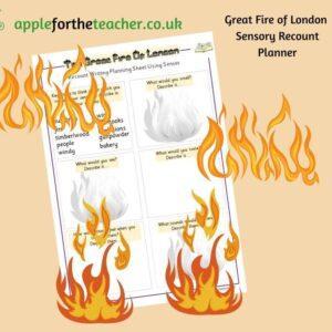Fire of London Sensory Recount Planner