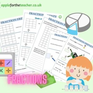 Fractions Frenzy Booklet KS2