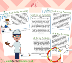 Grab and Go PE Activity Cards