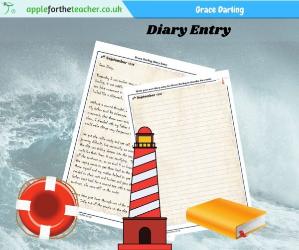 Grace Darling Diary Entry Activity