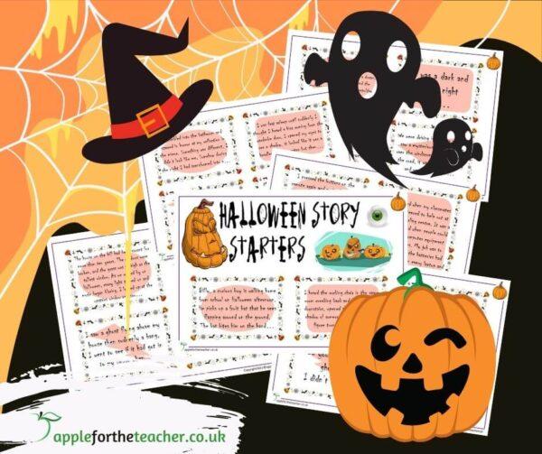 Halloween Scary Story Starter Ideas Writing KS2
