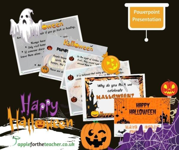 Halloween What is it About Powerpoint Presentation