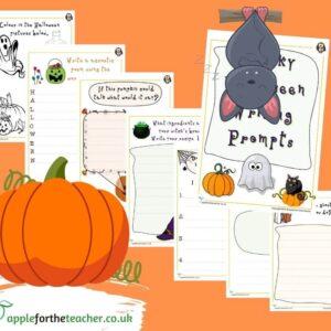 Halloween Writing Prompts KS1