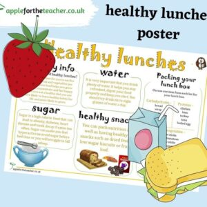Healthy Lunches Poster