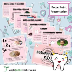 Healthy Teeth Powerpoint Presentation